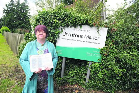 Nicola Vesey Williams has launched a last ditch attempt to retain Urchfont Manor as an adult education facility, even though it has now closed.