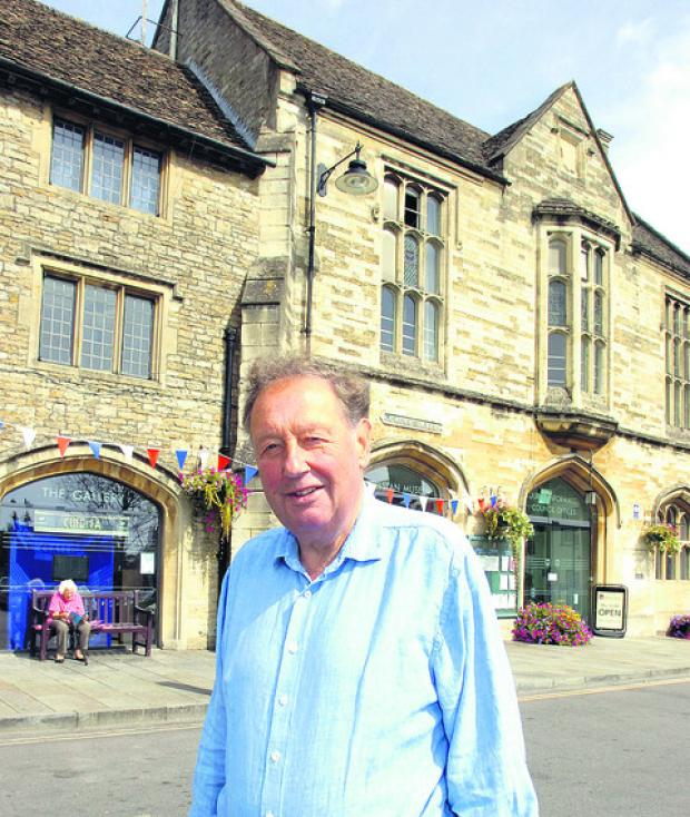Friends of Athelstan Museum founder Roger Griffin
