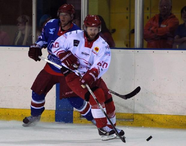 Jonas Hoog scored Wildcats second goal