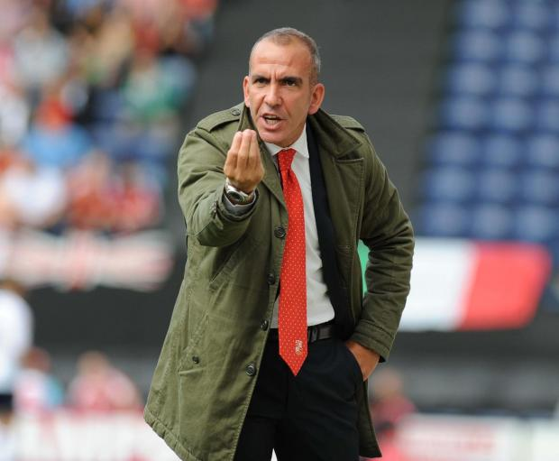 ALL ABOARD: Paolo Di Canio will take an early bus