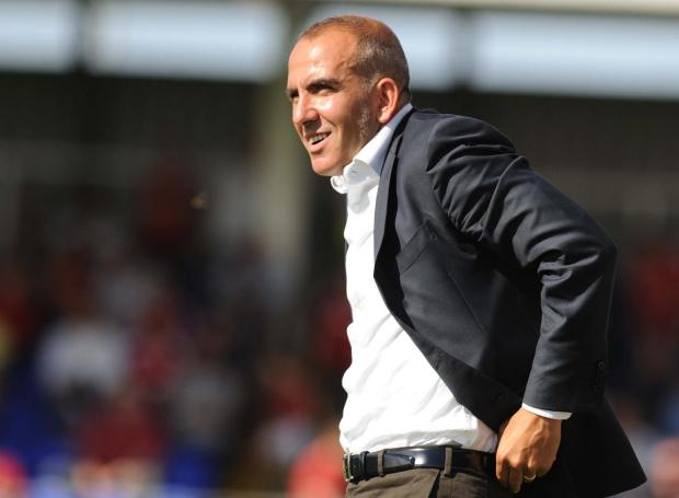 STEP IN THE RIGHT DIRECTION: Paolo Di Canio