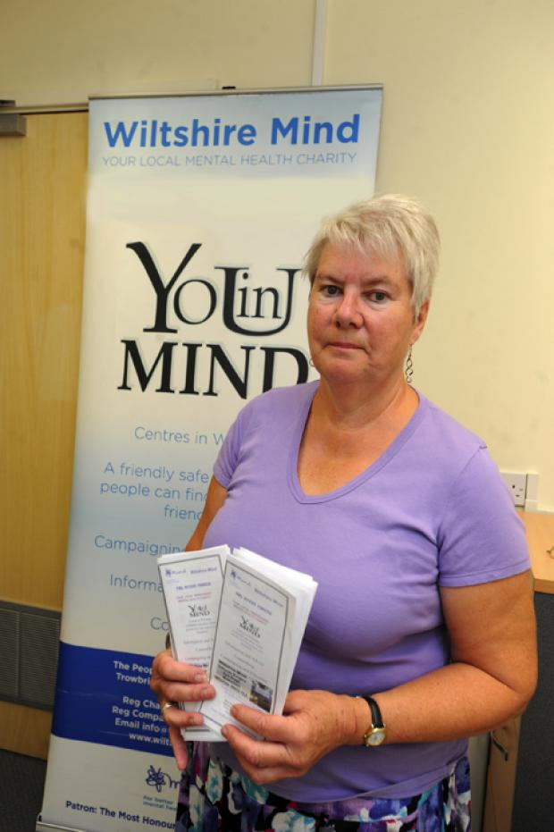 Carolyn Long of Wiltshire Mind