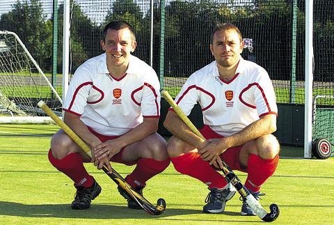 THE MASTERS: Roger Edwards and Russ McQuillan helped England to World Cup glory (Picture by Paul Morris