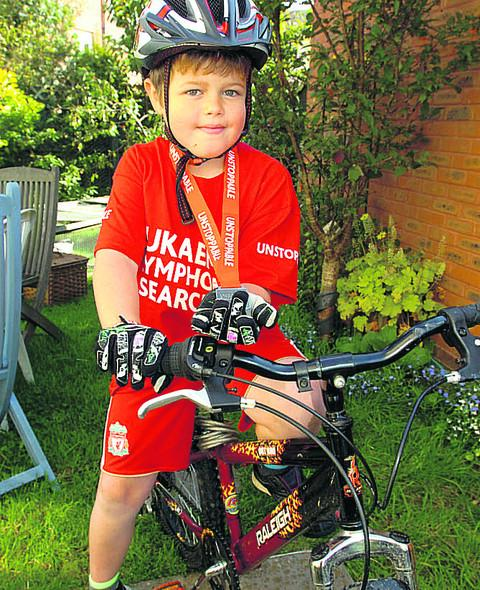 Tom Blackwood was inspired to ride by his late brother Tim Greatley