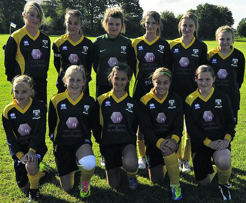 Melksham United U14 girls beat Bath City 1-0
