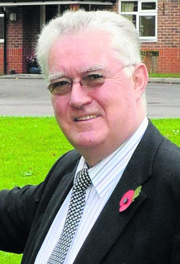 Wiltshire councillor Chris Humphries