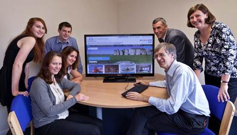 Visit Wiltshire team and online marketing group representative launch the VisitWiltshire website