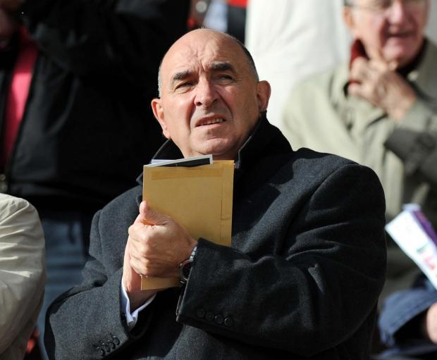 IT'S GOOD TO TALK: Sir William Patey has met with Paolo Di Canio