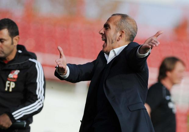 NO-WIN SITUATION: Town manager Paolo Di Canio
