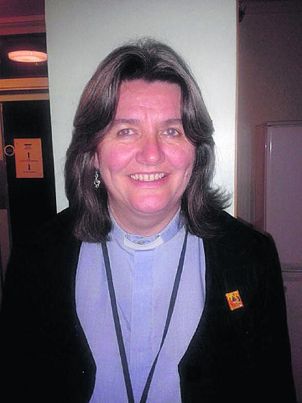 The Rev Ruth Worsley
