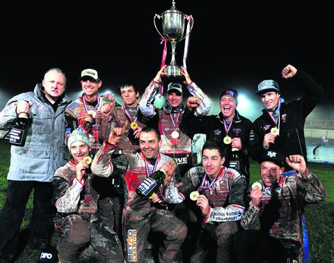 The Elite League title-winning Swindon Robins