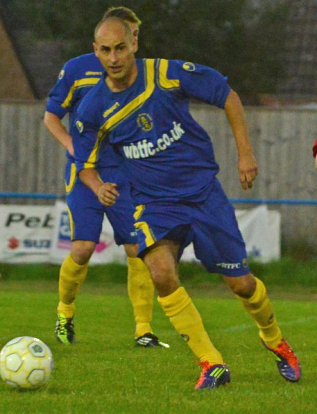 Wootton Bassett Town's Shaun Terry netted a hat-trick against Old Woodstock Town