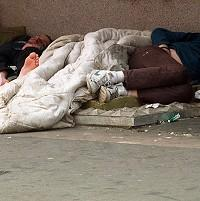 The image of single men sleeping rough does not reflect the true picture of homelessness, Shleter warned