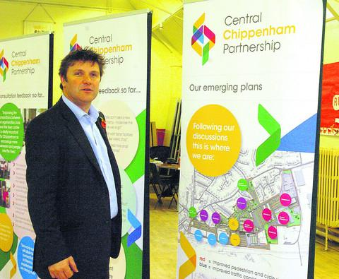 Wayne Locke of Ashteene with the development plans
