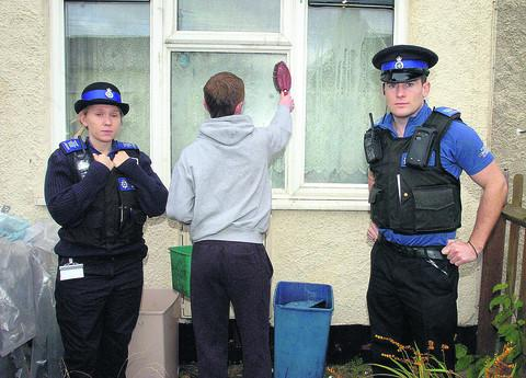 Chippenham youth who egged house is ordered to clean up | The