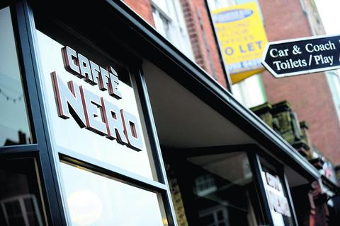 The Caffè Nero in Marlborough