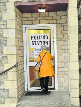 The polling station