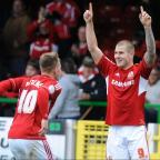 The Wiltshire Gazette and Herald: ON TARGET: Two-goal James Collins