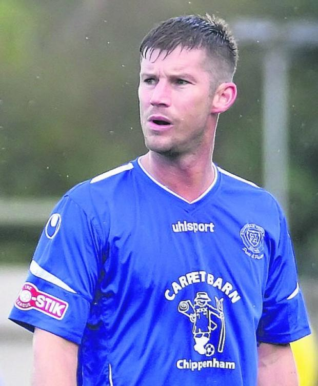 The Wiltshire Gazette and Herald: Chippenham Town skipper Scott Rogers has left the club