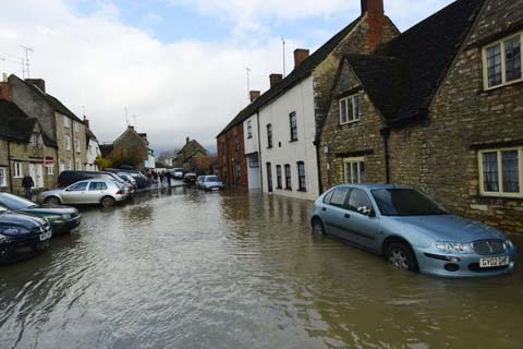 Last month's floods in Malmesbury were the worst in 70 years