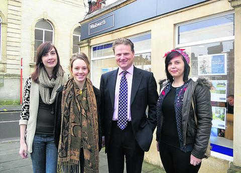 The Wiltshire Gazette and Herald: Jess Dubberley, Emily Young, Simon Jacobs and Kate Moore
