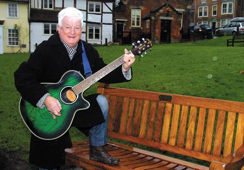 Pensioner bids for town bench