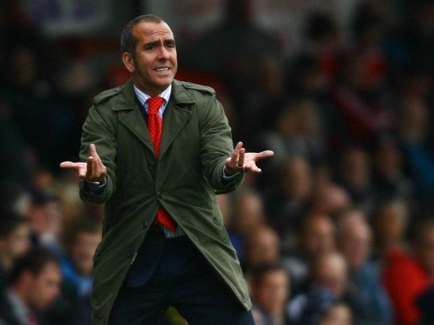 PLAYING THE PERCENTAGES: Paolo Di Canio