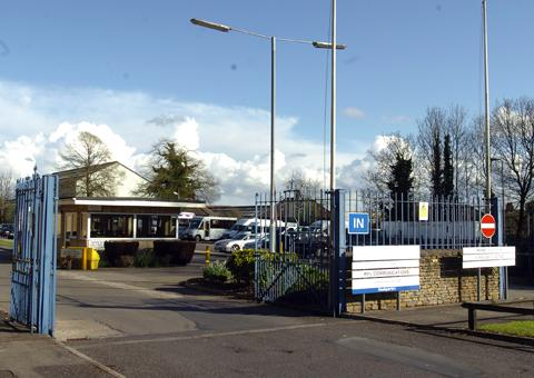 Langley Park in Chippenham, where Ivensys employs 1,400 people