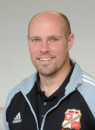 Goalkeeping coach Steve Hale