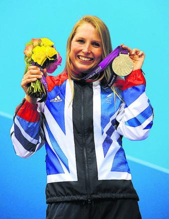 Stephanie Millward is one of the sports stars being helped by the Legacy for Wiltshire pa