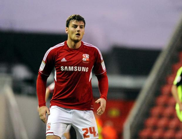 Town's loan striker Chris Martin