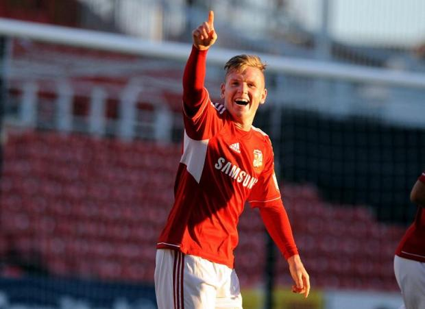 The Wiltshire Gazette and Herald: Matt Ritchie has left Swindon Town