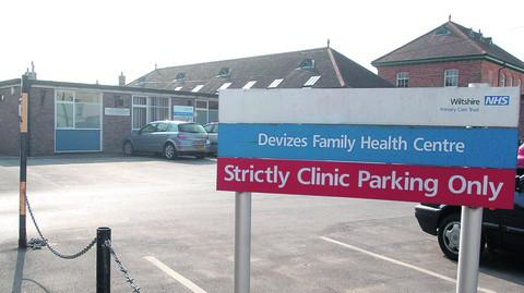 The site of the former family clinic in New Park Street, Devizes, has been sold to a private company