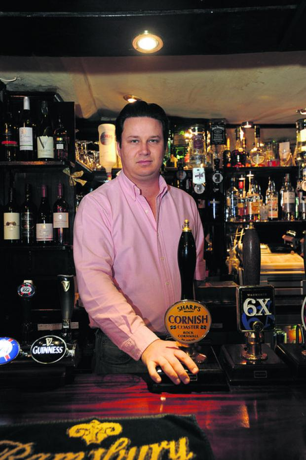 The Wiltshire Gazette and Herald: Jason Kalen, the new owner of The Sun Inn, will call it The Marlborough