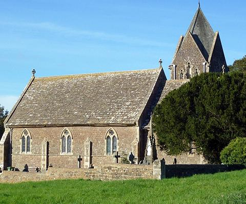 The Wiltshire Gazette and Herald: St Anne's at Bowden Hill, Lacock