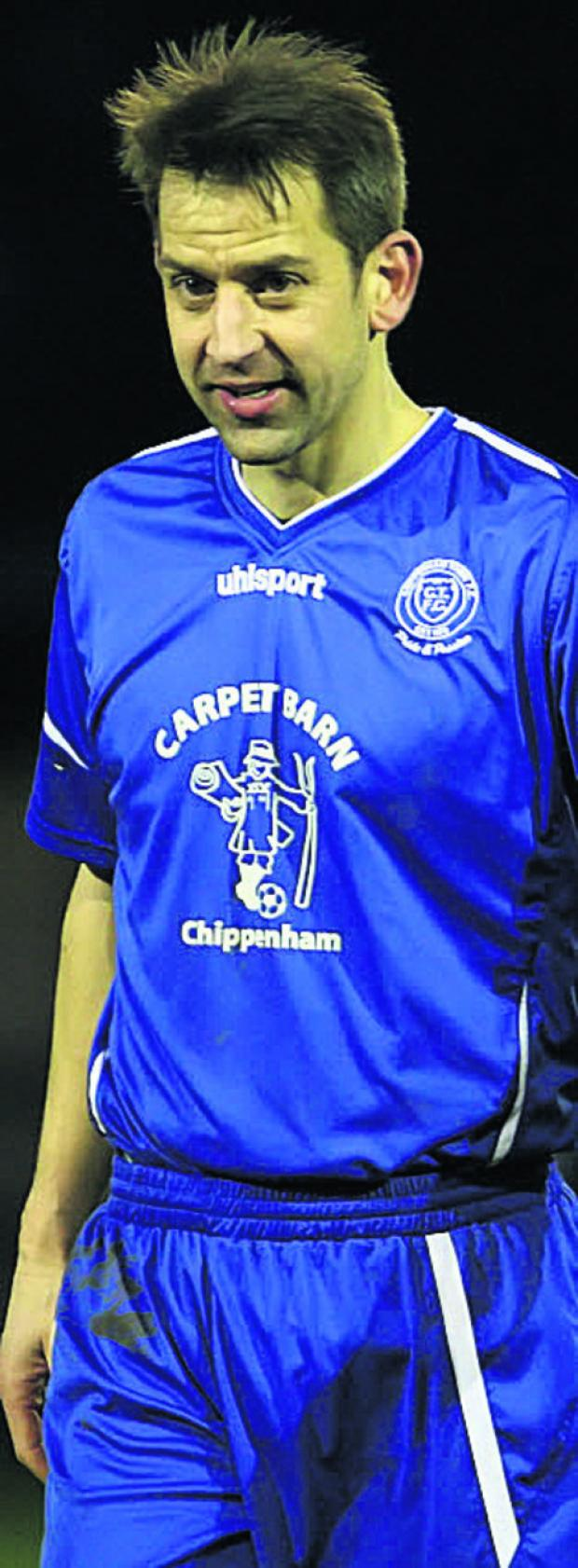 New Chippenham Town signing Jim Rollo (Photo: Robin Foster)