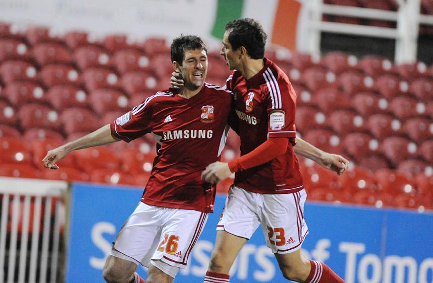 Danny Hollands could well remain a Swindon Town player