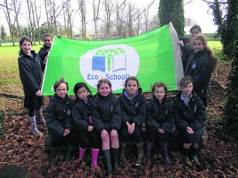 Pupils from Years 2 to 6 at St Margaret's Preparatory School, Calne, worked hard to ensure its Green Flag status was renewed