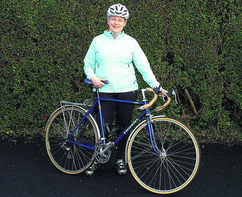 Cyclist Laurinda Watt, who is returning to work this month after an accident last summer