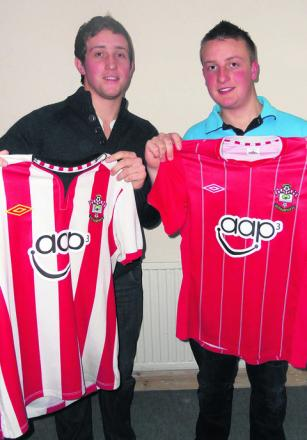 Mark White and brother Jamie will be cycling from Easterton to Southampton, to raise money for the Saints Foundation