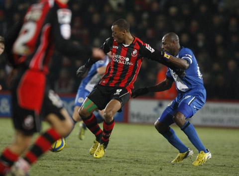 The Wiltshire Gazette and Herald: Wes Thomas was the subject of a Swindon Town bid earlier in the transfer window