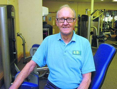 Gym instructor Bob Powell, 76, is urging other older people to take up fitness