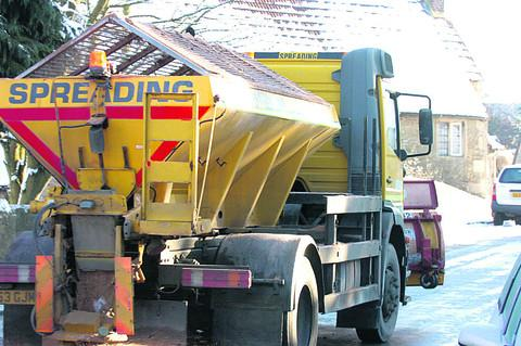 The Wiltshire Gazette and Herald: Wiltshire Council are prepared to keep Wiltshire's roads clear