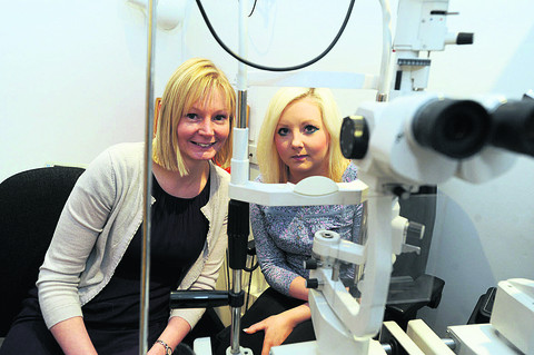 Optician helped save Chippenham woman's life