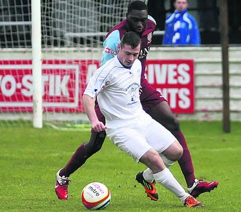 Chippenham Town's Luke Ballinger is aiming to make history with the England futsal team