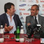 The Wiltshire Gazette and Herald: Phil Spencer (left) and Paolo Di Canio (right)