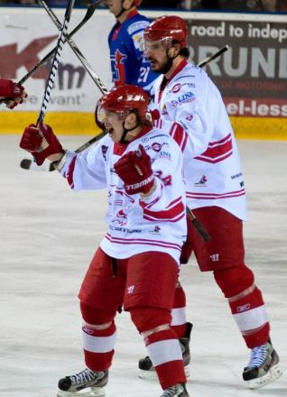 Wildcats supporters' player of the year Henri Sandvik