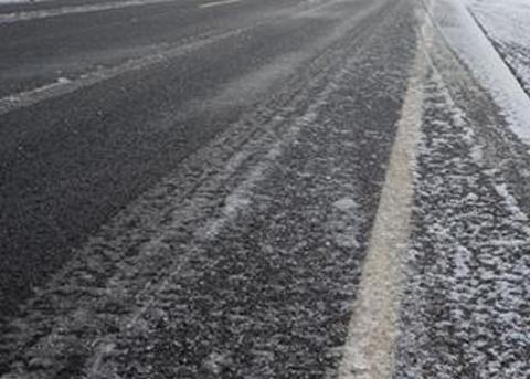 Drivers are being warned to beware of black ice