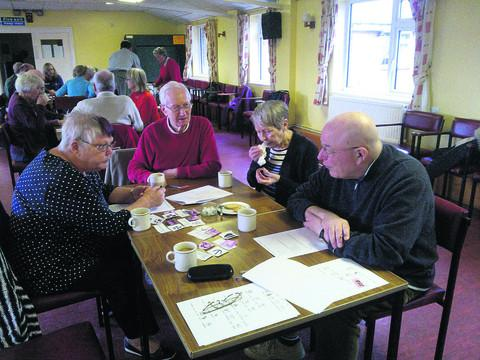 Members of the Devizes Stroke Club, which meets at the Nursteed Centre, is seeking more volunteers for its weekly meeting