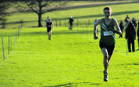 WILTSHIRE SCHOOLS CROSS COUNTRY CHAMPIONSHIPS: Hayden wins a sprint finish